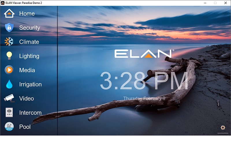 Elan home automation system in Costa Rica